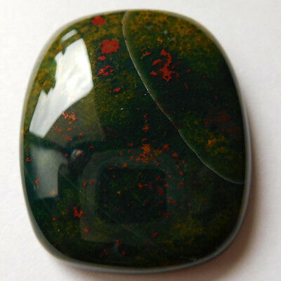 Natural BLOODSTONE Cushion Top Supplier Cabochon 34x28 mm Gemstone 67.10 Carats