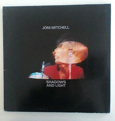 Joni Mitchell - Shadows and Light LP EX condition