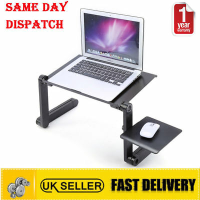 DIY Adjustable Portable Laptop Table Stand Lap Lazy Sofa Bed Tray Notebook Desk
