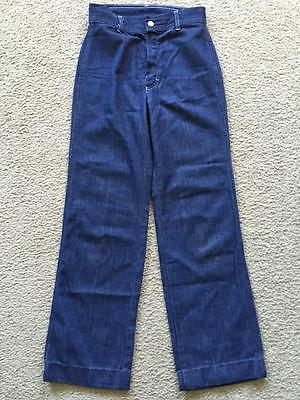 Vintage Kids Sears Roebuck Smurfs Embroidered Jeans 10