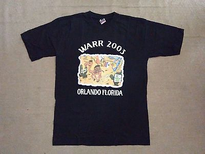 WARR(World Airline Road Race)2003 T-shirt, Emirates, Fly Emirates, Large, Black