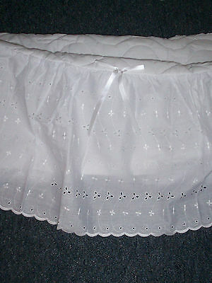 Babycare Bassinet Liner And Bumper New