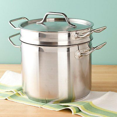 8 Qt. Stainless Steel Clad Double Boiler 922SDB8