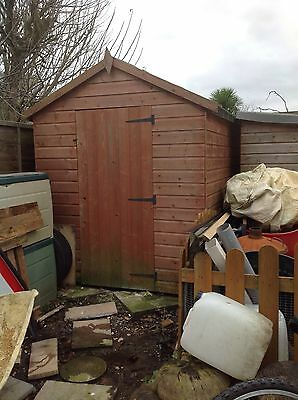 Garden Shed 8X6 Only 3 Years Old