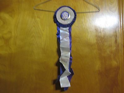 1979 Third Place Grand National Morgan Horse Saddle Seat Horse Show Ribbon