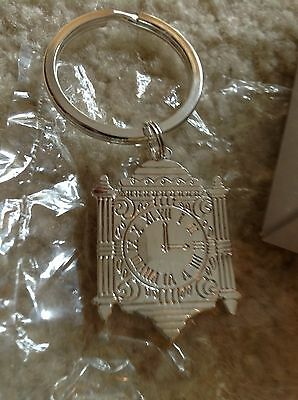 NEW Chicago's former Marshall Fields & Co Clock Key Chain in original box