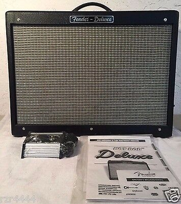 "Fender Hot Rod Deluxe 40W 1x12"" All Tube Guitar Combo Amp TESTED/WORKS"