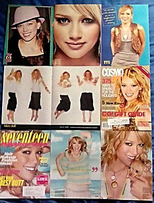 * RARE Older Hilary Duff - Younger - Clippings Pack 30 Full Pages + Poster *