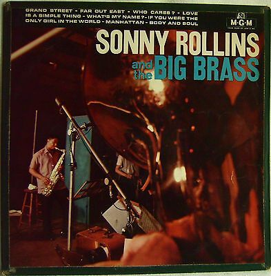Sonny Rollins And The Big Brass   France Vinyl LP, MGM Records – F2-111