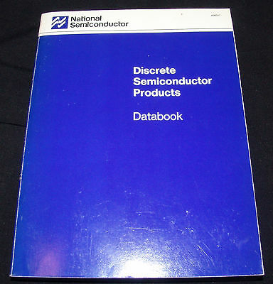 National Semiconductor Discrete Semiconductor Products Databook 1989