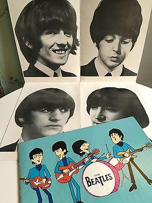 THE BEATLES 1965 Final UK Tour Concert Programme - Complete with Poster