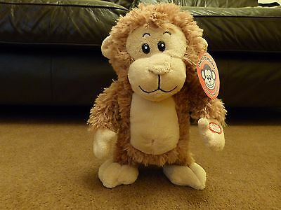 chuckling monkey toy