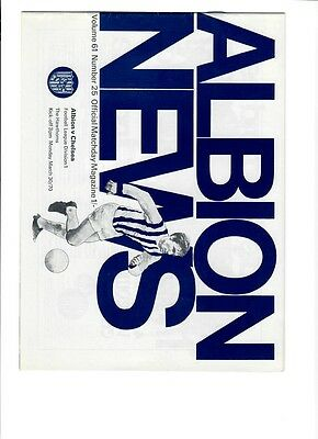 West Bromwich Albion v Chelsea - 30/03/1970