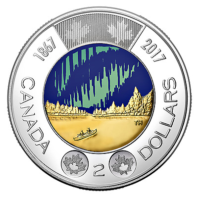 2017 Canada 150 2$ dollars glow-in-the-dark  *PreOrder* DANCE OF THE SPIRITS