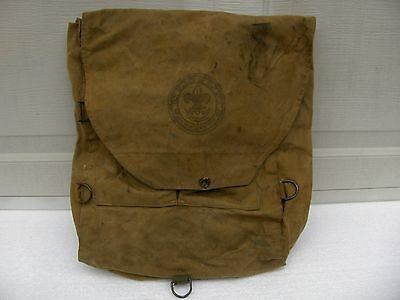 Boy Scouts Of America Bsa Vintage # 573 Official Haversack/ Backpack. 1940's