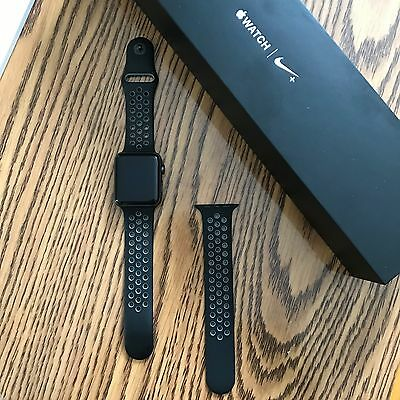 Apple Watch Series 2 Nike+ Edition 42mm Space Grey