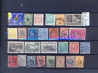 Stamps Lot  Finland  Used  (L14780)