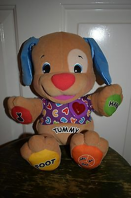 Interactive Fisher-Price Singing Talking Laugh & Learn Puppy Soft Toy