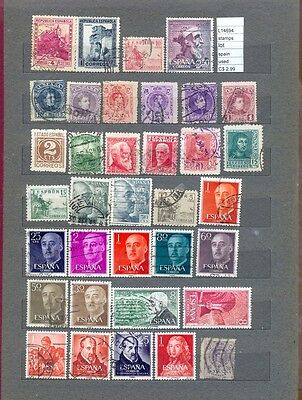 Stamps Lot Spain  Used  (L14694)