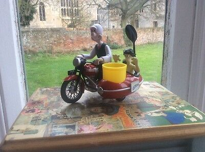 Wallace and Gromit Motorbike egg cup