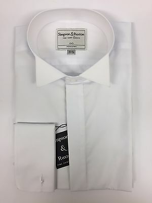 Simpson & Ruxton Wing Collar Dress Shirt