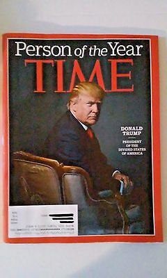 TIME Magazine Trump PERSON OF THE YEAR 12/19/2016 Issue