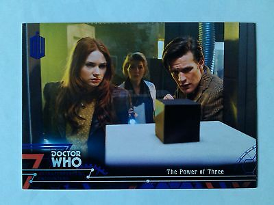 Doctor Who Extraterrestrial Purple Foil Parallel Base Card 88 (# to 50) Power 3