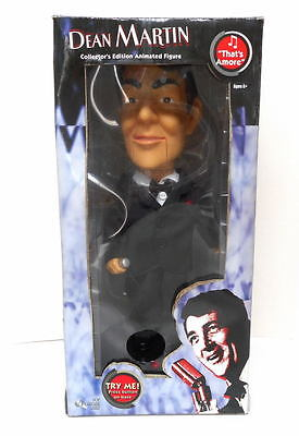 """Gemmy Dean Martin Animated Singing Doll 2004 NEW In Box~ Sings """"Thats Amore"""""""