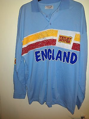 Genuine Match Worn England 1 day International Cricket Shirt Signed with proof!!