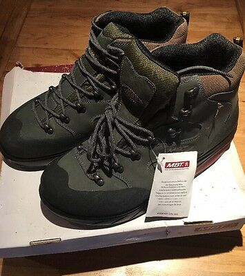 Men's MBT Kilima Charcoal Leather Hiking Boot Size 10