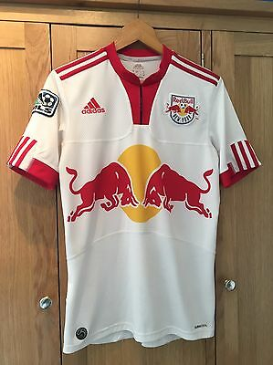 Adidas MLS American Football Jersey T Shirt New York Red Bull Size Small