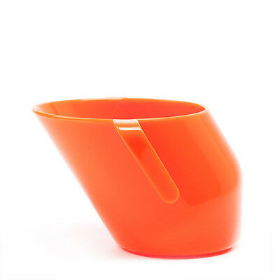 Doidy Cup - Orange- Angled Mobility/Trainer Sippy Cup!