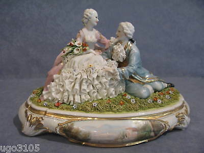 Porcelain di Capodimonte, Group Amore Lord