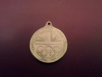 Commemeration medallion of the Olympics 1896-1984, Moscow 1980 Decathlon
