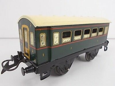 French Hornby O Gauge Special Type Passenger Coach - 1st Class