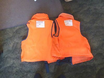 Two Adult Buoyancy Aids, COLLECT ONLY, Low Start, Priced to Sell  (L@@K):  - - -