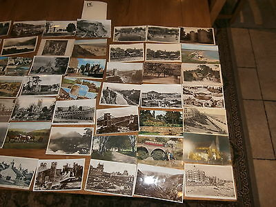 50 Old vintage postcard collection  places people scenery ref 18