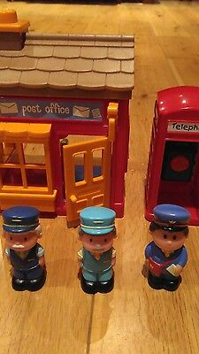 early learning centre post office and phone box