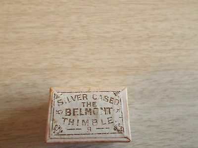 the belmont silver cased thimble 9