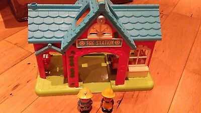 early learning centre fire station and firemen