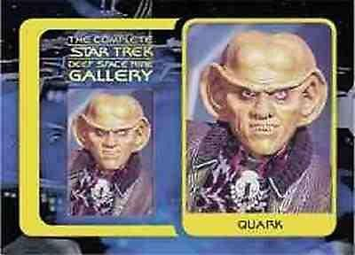 The Complete Star Trek Deep Space Nine Gallery G09 Quark
