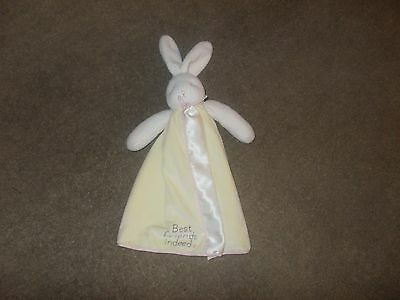 bunny station   baby security lovely blanket