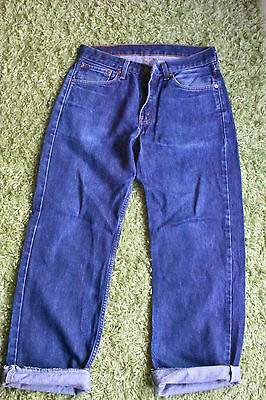 Women's blue Levi's 751 jeans size W30L30. 90's mom fit.