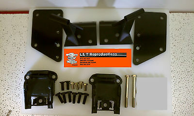1955 1956 1957 Chevy LS1 LS6 5.3 6.0 Motor Mount Conversion Kit Belair Sedan HTP