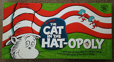 Dr Seuss' the Cat in the Hat-opoly, Monopoly Game, Official merchandise,