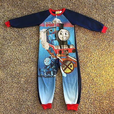 Thomas and Friends Built For Speed Toddler Boy Girl 1 Piece PJ Kids sz 6 O32