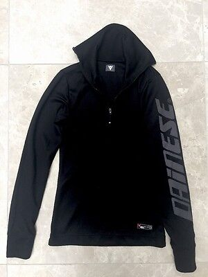 Ladies XXS Or Kids Age 11-12 DAINESE Thermal Base Layer Worn Once High Neck