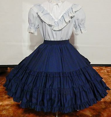 2 Piece Blues Square Dance Dress
