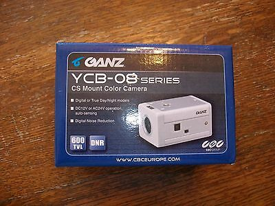 Ganz YCB-08  Series CS Mount Color Camera  * New in Box**