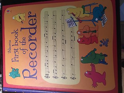 Usborne The first book of the recorder